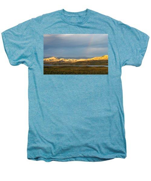 Stormy Sky With Rays Of Sunshine Men's Premium T-Shirt