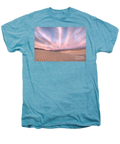 Sunrise Over Sand Dunes Men's Premium T-Shirt