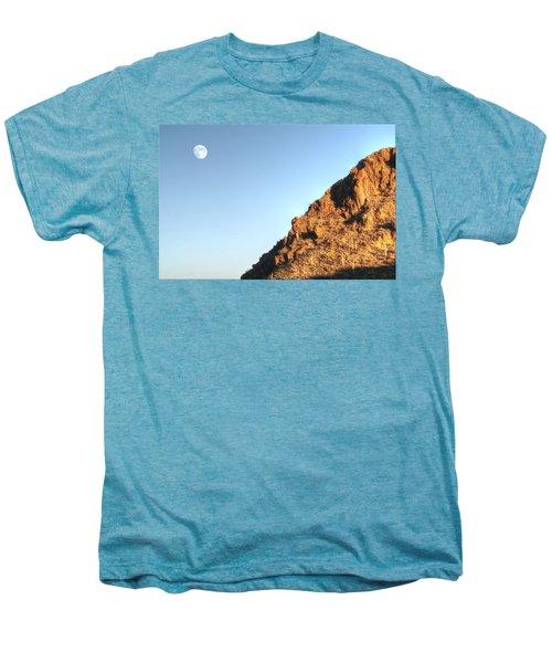 Superstition Mountain Men's Premium T-Shirt by Lynn Geoffroy