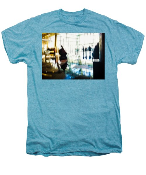 Men's Premium T-Shirt featuring the photograph Suspended In Light by Alex Lapidus