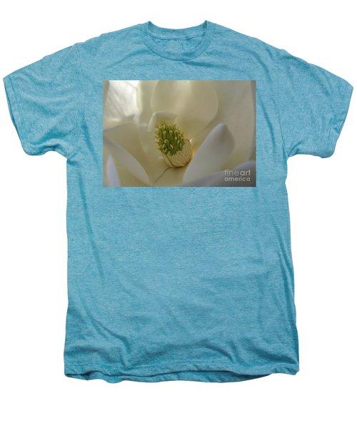 Sweet Magnolia Men's Premium T-Shirt by Peggy Hughes