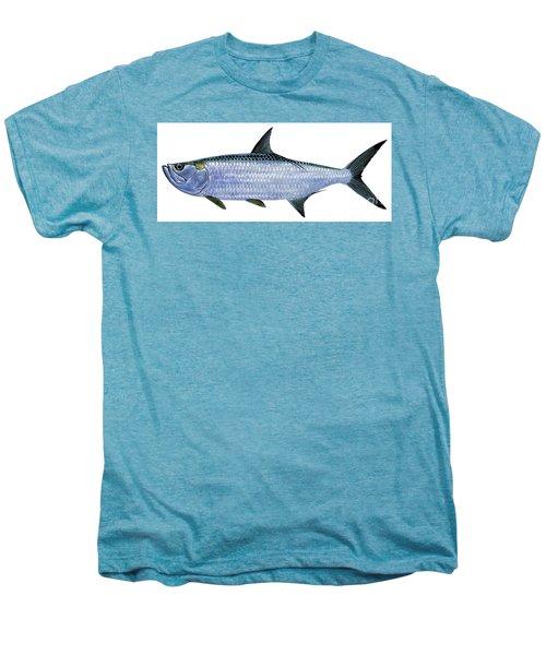 Tarpon Men's Premium T-Shirt by Carey Chen