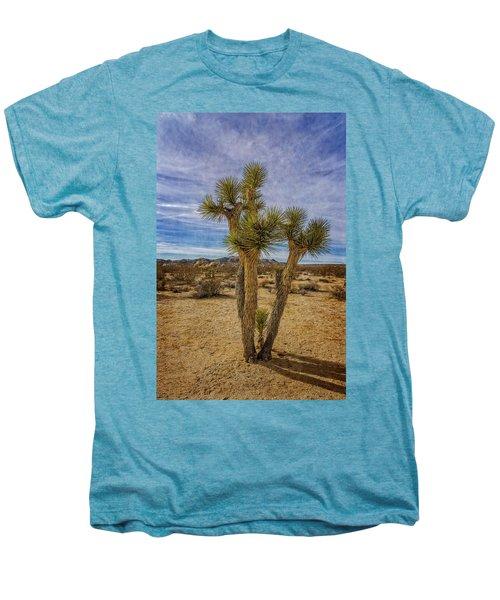 Textured Men's Premium T-Shirt