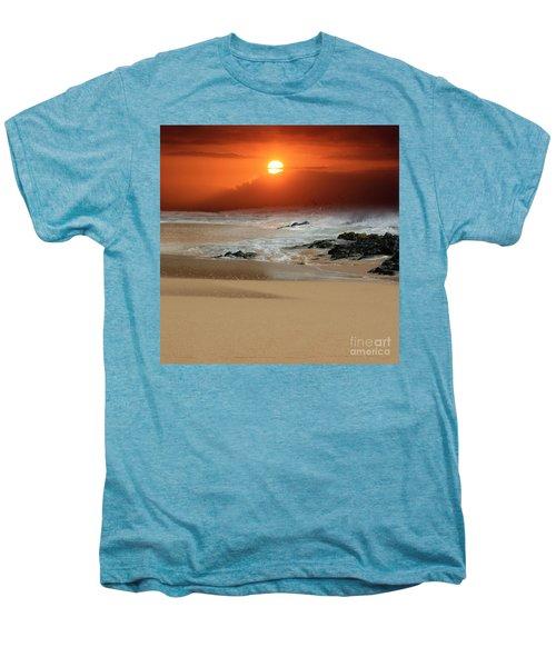 The Birth Of The Island Men's Premium T-Shirt by Sharon Mau
