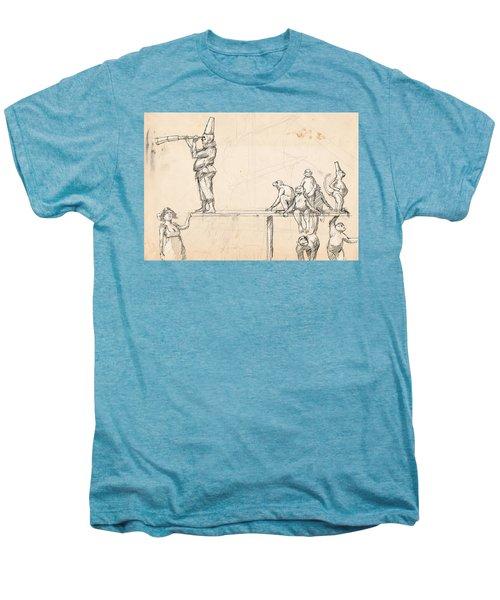 The Captain Men's Premium T-Shirt by H James Hoff