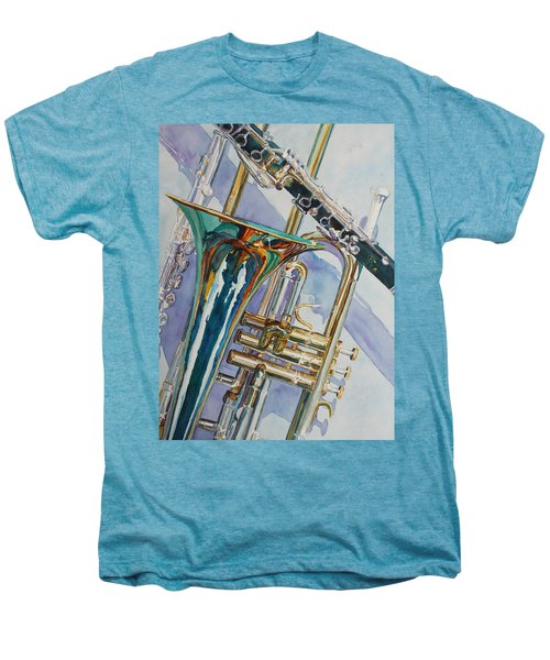 The Color Of Music Men's Premium T-Shirt by Jenny Armitage