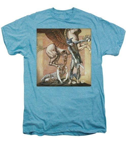 The Death Of Medusa I, C.1876 Men's Premium T-Shirt by Sir Edward Coley Burne-Jones