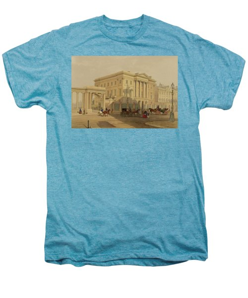 The Exterior Of Apsley House, 1853 Men's Premium T-Shirt by English School