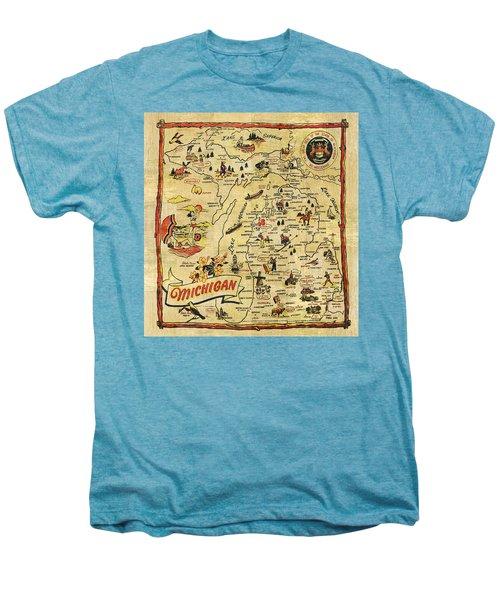 The Great Lakes State Men's Premium T-Shirt