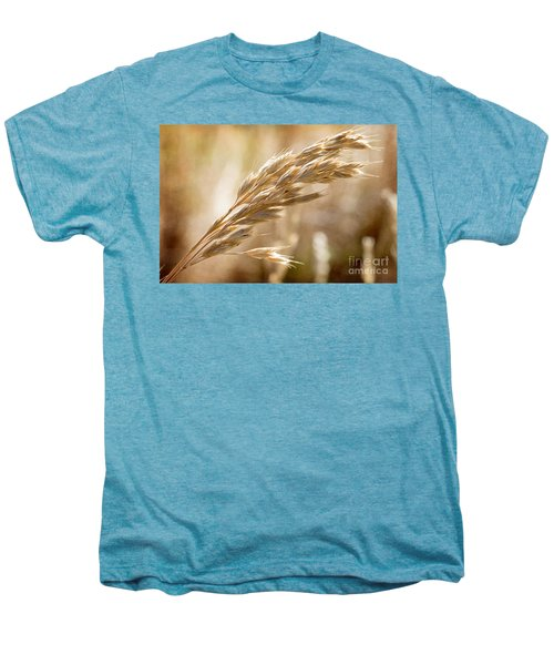 Men's Premium T-Shirt featuring the photograph The Hot Gold Hush Of Noon by Linda Lees
