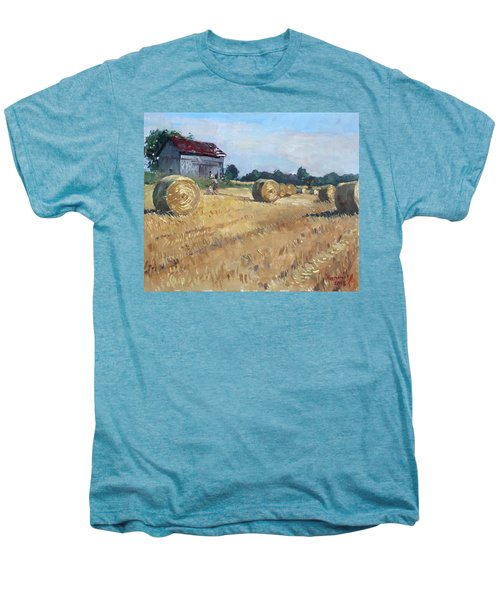 The Old Barns In Georgetown On Men's Premium T-Shirt