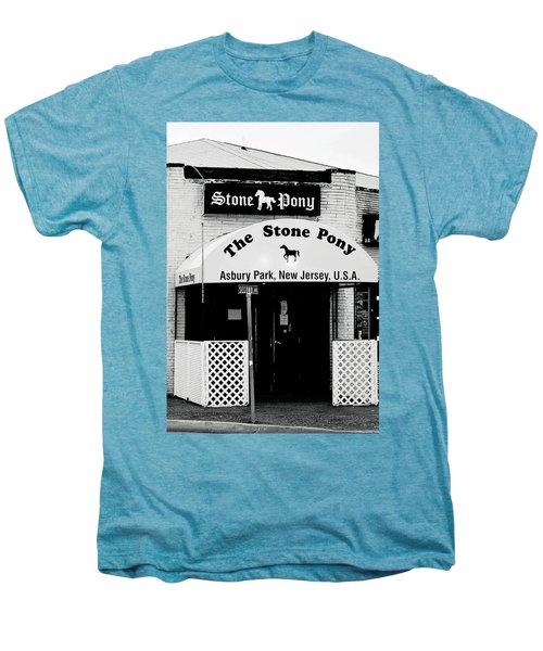 The Stone Pony Asbury Park Nj Men's Premium T-Shirt by Terry DeLuco