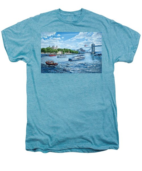 The Tower Of London Men's Premium T-Shirt