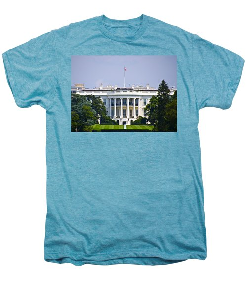 The Whitehouse - Washington Dc Men's Premium T-Shirt by Bill Cannon