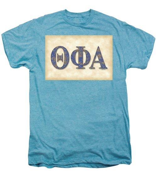 Theta Phi Alpha - Parchment Men's Premium T-Shirt by Stephen Younts