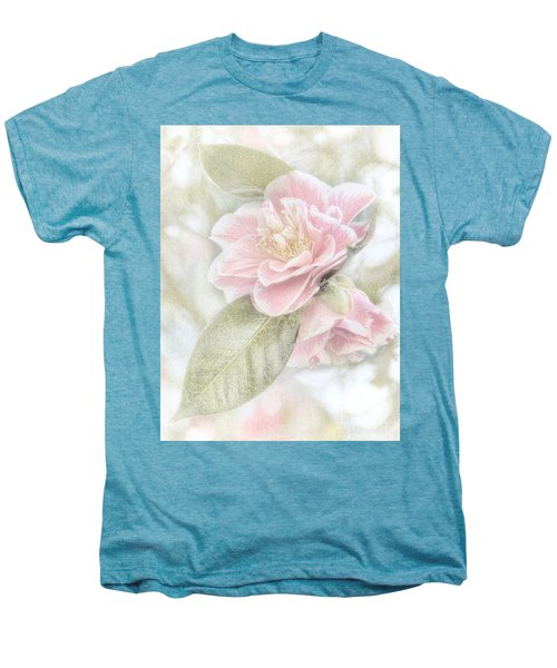 Think Pink Men's Premium T-Shirt by Peggy Hughes