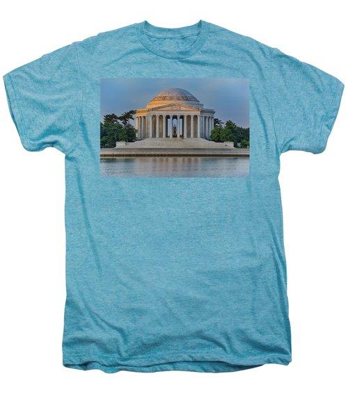 Men's Premium T-Shirt featuring the photograph Thomas Jefferson Memorial At Sunrise by Sebastian Musial