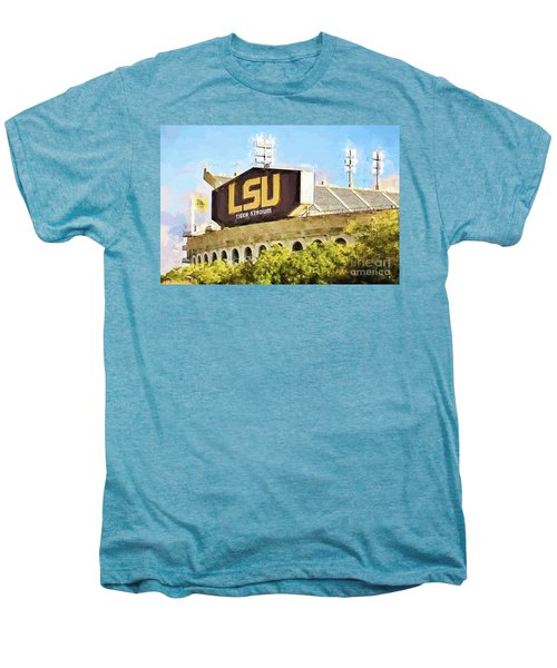 Tiger Stadium - Bw Men's Premium T-Shirt