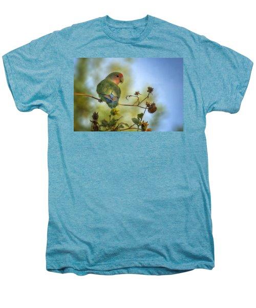 To Love A Lovebird Men's Premium T-Shirt