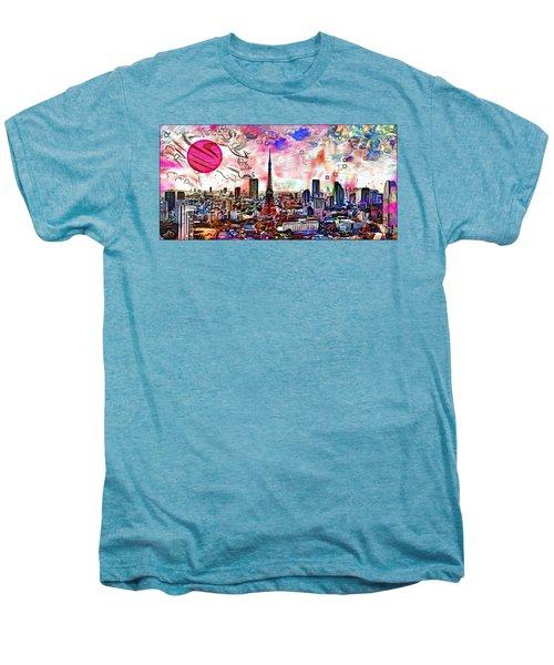 Tokyo Metropolis Men's Premium T-Shirt by Daniel Janda