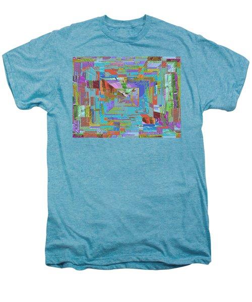 Topographic Albatross Men's Premium T-Shirt by Tim Allen