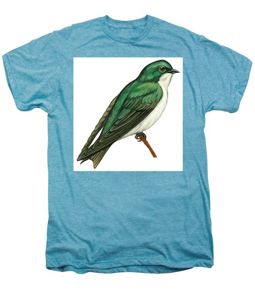 Tree Swallow  Men's Premium T-Shirt by Anonymous