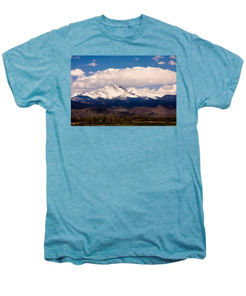 Twin Peaks Snow Covered Men's Premium T-Shirt by James BO  Insogna