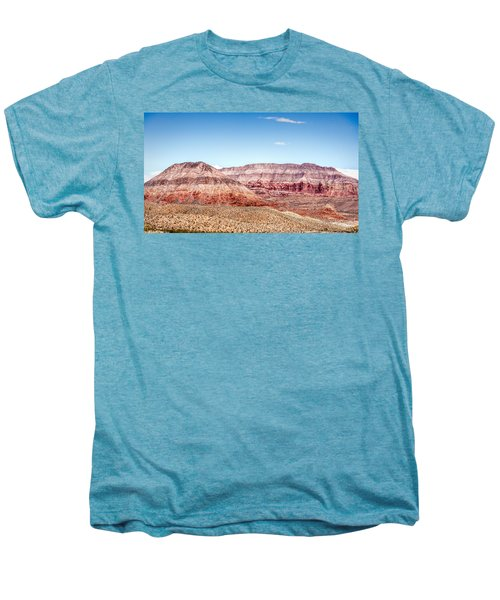 Two Layered Mountains Men's Premium T-Shirt