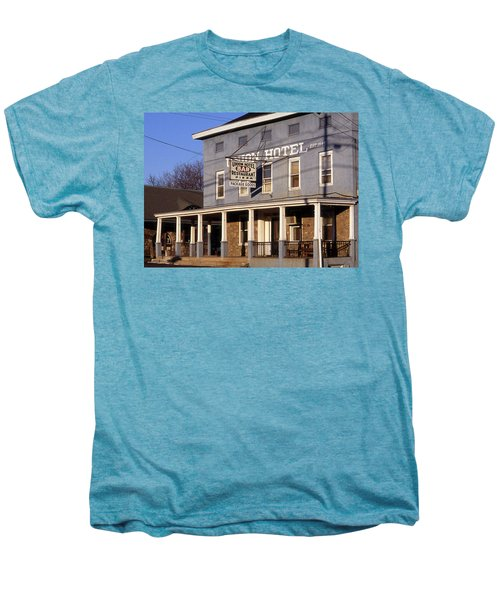 Union Hotel Men's Premium T-Shirt by Skip Willits