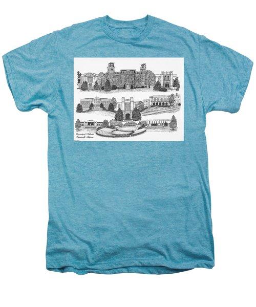 University Of Arkansas Fayetteville Men's Premium T-Shirt by Jessica Bryant