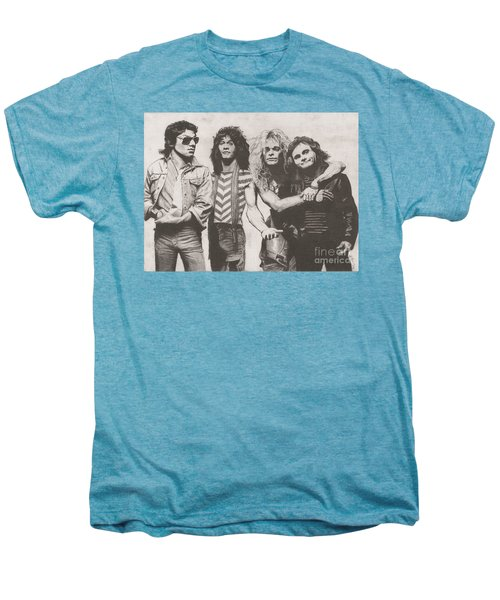 Van Halen Men's Premium T-Shirt by Jeff Ridlen