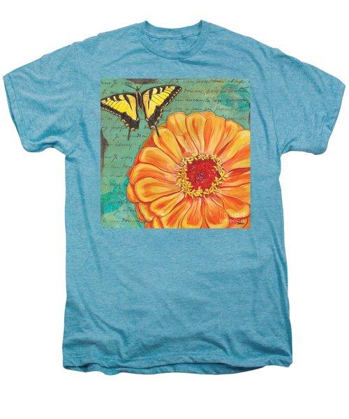 Verdigris Floral 1 Men's Premium T-Shirt
