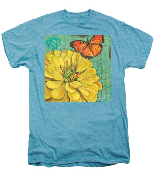 Verdigris Floral 2 Men's Premium T-Shirt