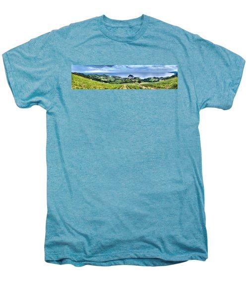 Vineyards By The Sea Men's Premium T-Shirt