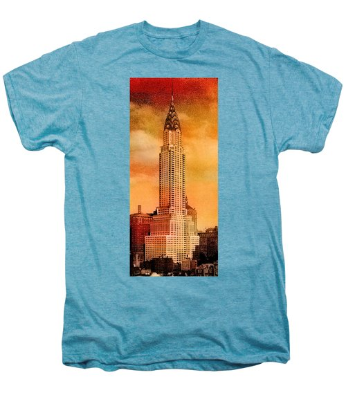 Vintage Chrysler Building Men's Premium T-Shirt