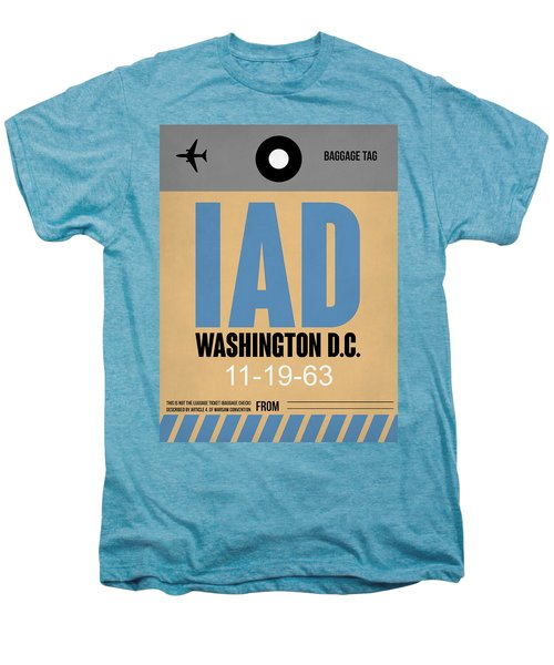 Washington D.c. Airport Poster 3 Men's Premium T-Shirt