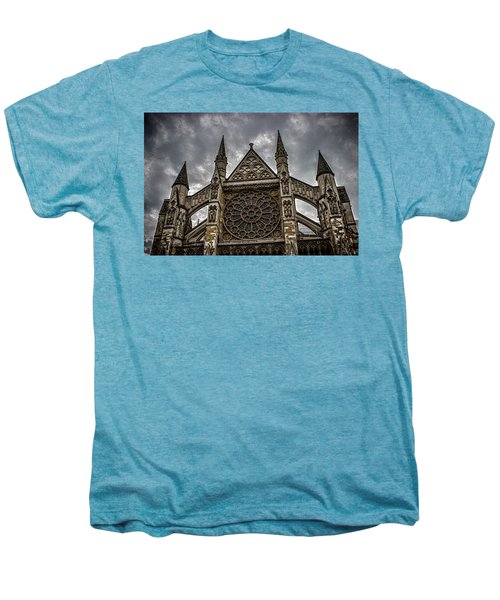 Westminster Abbey Men's Premium T-Shirt by Martin Newman