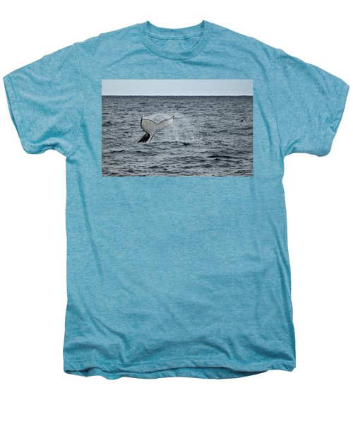 Men's Premium T-Shirt featuring the photograph Whale Of A Time by Miroslava Jurcik