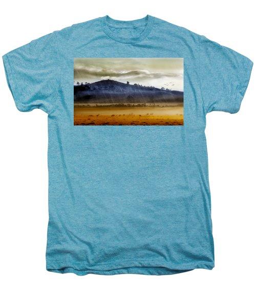 Whisps Of Velvet Rains... Men's Premium T-Shirt