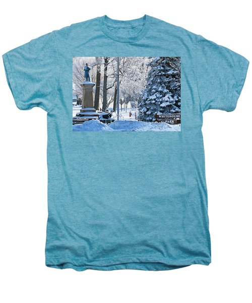Whitehouse Village Park  7360 Men's Premium T-Shirt by Jack Schultz