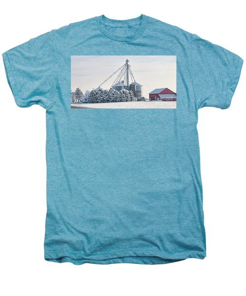Winter Farm  7365 Men's Premium T-Shirt by Jack Schultz