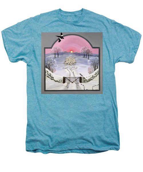 Winter Men's Premium T-Shirt by Maggie Rowe