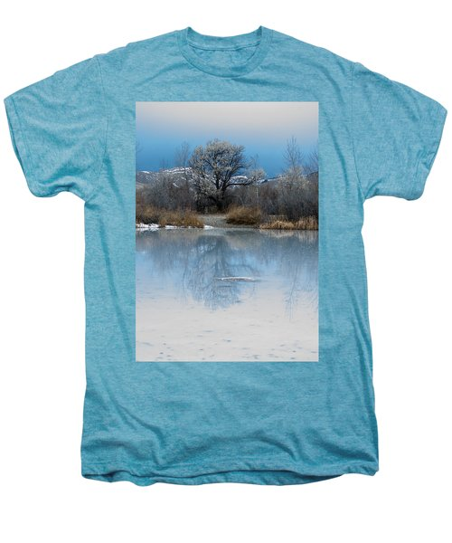Winter Taking Hold Men's Premium T-Shirt