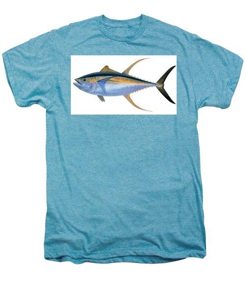 Yellowfin Tuna Men's Premium T-Shirt by Carey Chen