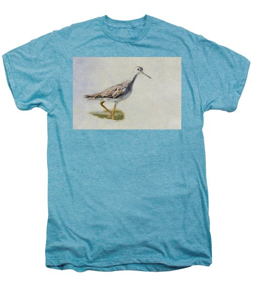 Yellowlegs Men's Premium T-Shirt by Bill Wakeley