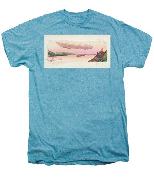 Zeppelin, Published Paris, 1914 Men's Premium T-Shirt by Ernest Montaut