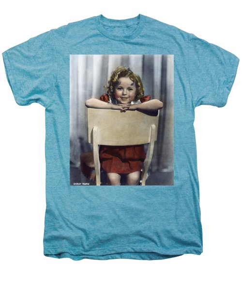 Shirley Temple (1928- ) Men's Premium T-Shirt by Granger
