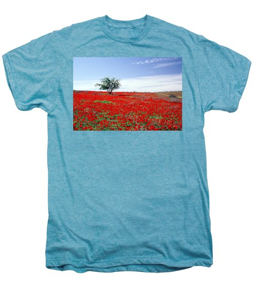A Tree In A Red Sea Men's Premium T-Shirt