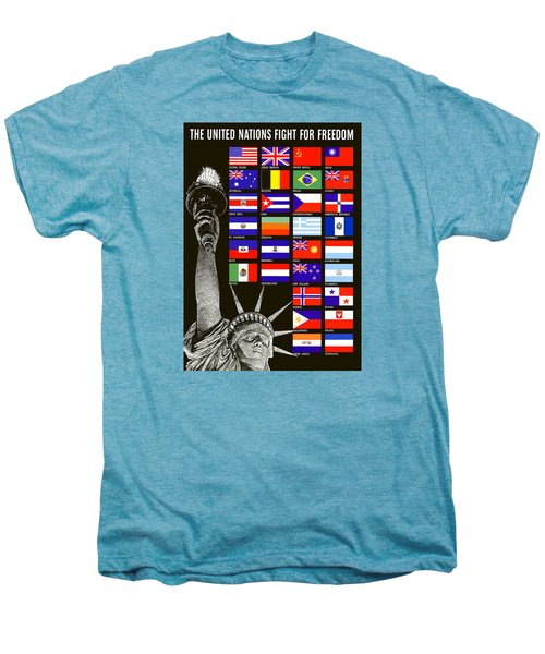 Allied Nations Fight For Freedom Men's Premium T-Shirt