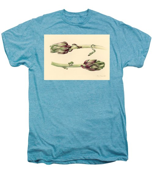 Artichokes Men's Premium T-Shirt by Alison Cooper